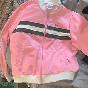 Lacoste Pink Sport Jacket